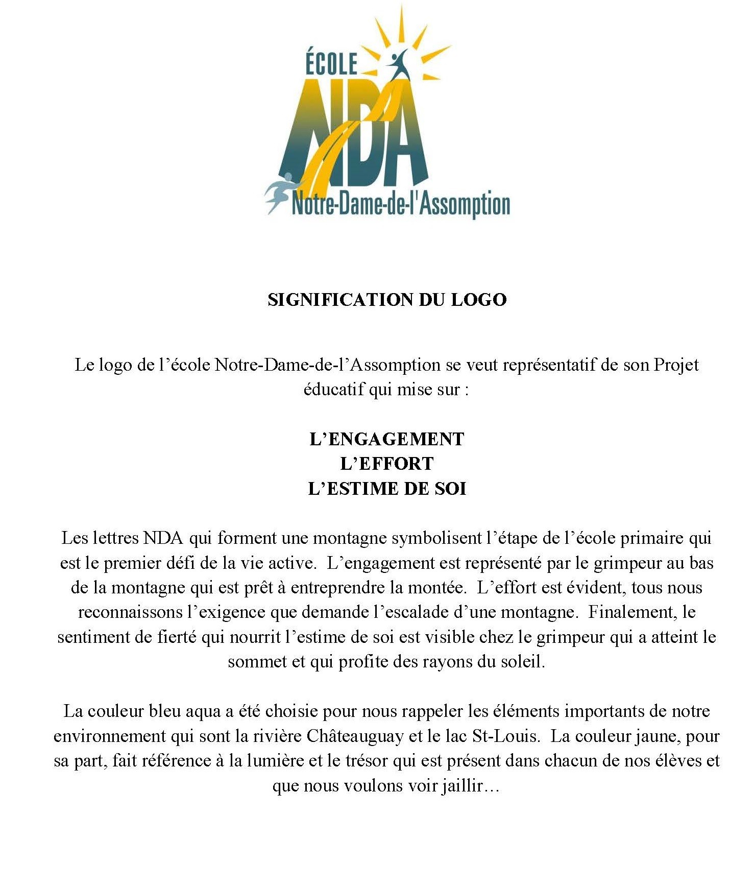 SIGNIFICATION DU LOGO 2
